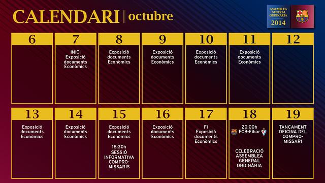 Calendari detallat