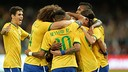 Brazil beat South American rivals Argentina in China / PHOTO: CBF.COM