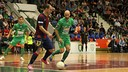 Wilde helped Barça to a 6-2 win in Pamplona / PHOTO: MAGNA NAVARRA
