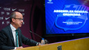 Jordi Cardoner was speaking about Saturday's Ordinary General Assembly / PHOTO: GERMÁN PARGA - FCB