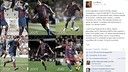 Leo Messi thanked everyone through Facebook on his 10th anniversary with the Club