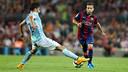 Jordi Alba has made it 50 games for Barça / PHOTO: MIGUEL RUIZ - FCB