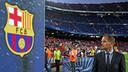 Frank de Boer managed Ajax at the Camp Nou last season / PHOTO: MIGUEL RUIZ - FCB