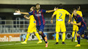 Barça B were outstanding against Alcorcón / PHOTO: VÍCTOR SALGADO - FCB