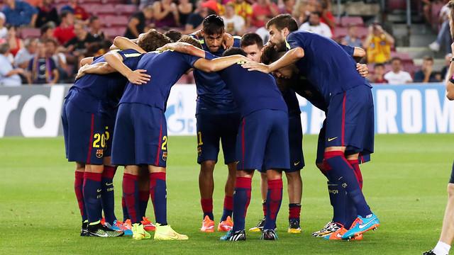 El FC Barcelona vol sumar de tres en tres a casa / FOTO: MIGUEL RUIZ-FCB
