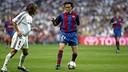 Luis Enrique's last Clásico at the Bernabéu resulted in a 2-1 win for Barcelona. PHOTO: MIGUEL RUIZ-FCB.