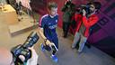Luis Enrique at the end of the press conference / FOTO: MIGUEL RUIZ-FCB