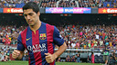 Luis Suárez could make his Barça debut on Saturday / PHOTO: MIGUEL RUIZ-FCB