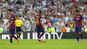 Messi, Neymar et Suárez, au Bernabéu / PHOTO: MIGUEL RUIZ-FCB