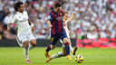 Leo Messi played a solid match at the Bernabeu but couldn't score / PHOTO: MIGUEL RUIZ - FCB