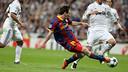 Deuxième but de Messi face au Real Madrid - Champions 2010/2011 - PHOTO : MIGUEL RUIZ