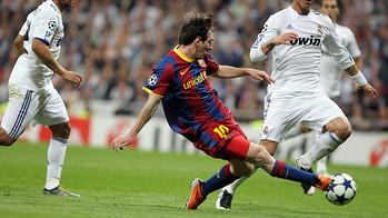 Messi marca el segundo gol al Madrid en la Champions 2010/2011
