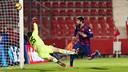 But de Piqué / PHOTO : MIGUEL RUIZ-FCB