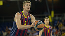 Justin Doellman led Barça with a team-high 25 points / PHOTO: GERMÁN PARGA - FCB