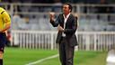 Eusebio Sacristán dando órdenes a sus jugadores en un partido en el Miniestadi / FOTO: ARCHIVO FCB