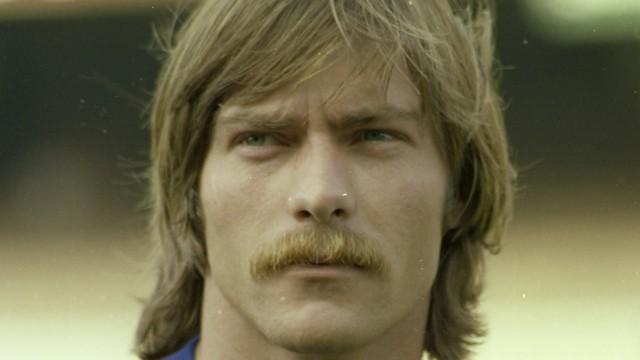 Migueli, amb bigoti en la seva època de jugador / FOTO: ARXIU FCB