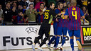 This is the second time that the Palau Blaugrana has hosted the UEFA Elite Round / FCB ARCHIVE