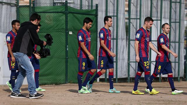 Els jugadors del primer equip han realitzat diferents accions del Club i compromisos amb patrocinadors