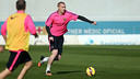 Mathieu was among the players that trained on Friday / PHOTO: MIGUEL RUIZ - FCB