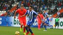 Gumbau featured in a lively encounter. / PHOTO: SD Ponferradina