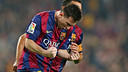 Messi / PHOTO : MIGUEL RUIZ - FCB