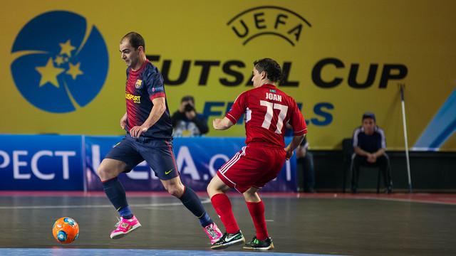 Ara hace dos años, el Barça perdió las semifinales contra el Kairat Almaty