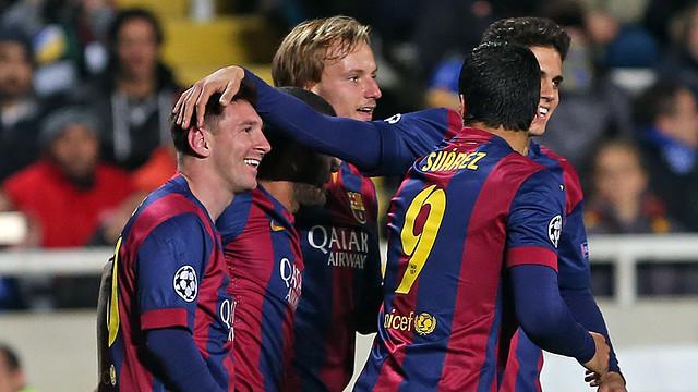 Gol de Messi contra l