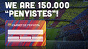 We are 150.000 penyistes!