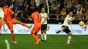 Sergio Busquets was the hero at  Mestalla / PHOTO: MIGUEL RUIZ - FCB