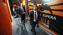Jordi Alba and Mathieu arriving at Mestalla / PHOTO: MIGUEL RUIZ - FCB