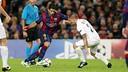 Luis Suárez in action against PSG / MIGUEL RUIZ - FCB