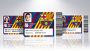 There will be new-look cards for 2015 / FCB PHOTOMONTAGE