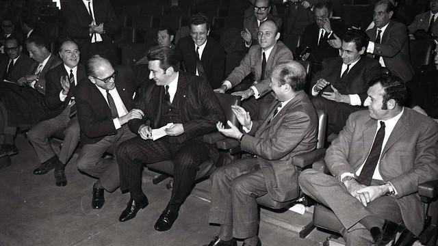 El 18 de diciembre de 1969 Agustí Montal Costa fue nombrado nuevo presidente del FC Barcelona