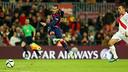 Sandro scored against Huesca on Tuesday night / PHOTO: MIGUEL RUIZ-FCB