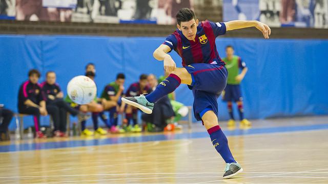 El Barça B se afianza en el liderato de la Segunda División de la LNFS