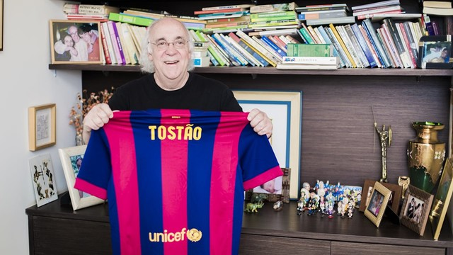 Tostão has always been an admirer of the Barça style / PHOTO: FCB