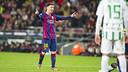 Leo Messi es el máximo goleador del Barça esta temporada con 23 goles / FOTO: VÍCTOR SALGADO - FCB