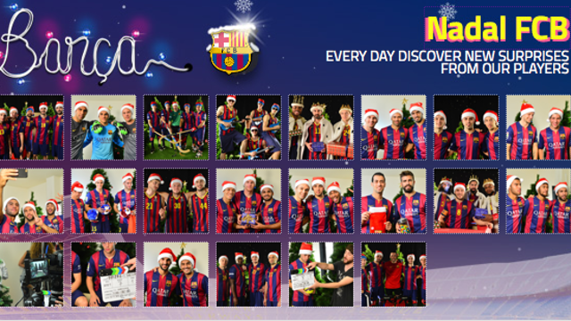 The complete 2014 FC Barcelona Advent Calendar