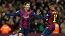Messi & Neymar have both been included in L'Equipe's XI. PHOTO: MIGUEL RUIZ-FCB.