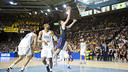 Ante Tomic, here against Real Madrid last season, will be  a key on Sunday. PHOTO: FCB Archive