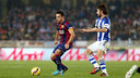 Xavi Hernández says team missed a shot at three points / PHOTO: MIGUEL RUIZ - FCB