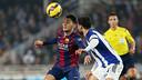 Munir lost his first league game in a Barça shirt / PHOTO: MIGUEL RUIZ-FCB