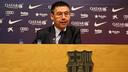 Josep Maria Bartomeu, en una roda de premsa / FOTO: ARXIU FCB