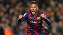 Neymar Jr scored his 32nd goal as a blaugrana/ PHOTO: MIGUEL RUIZ-FCB