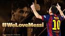 #WeLoveMessi