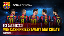 It's quick and easy to join FCB Daily Best XI