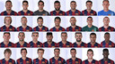 The 29 players used by Luis Enrique so far this season in official matches. PHOTO: MIGUEL RUIZ - FCB