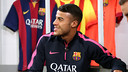 Rafinha during the interview with Barça TV / PHOTO: MIGUEL RUIZ-FCB
