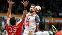 Karabatic y Sorhaindo, los azulgranas en la selección francesa / FOTO:Qatar Handball 2015