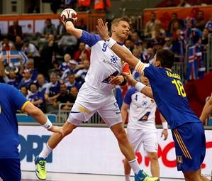 Gudjon Valur Sigurdsson, amb la samarreta d'Islàndia /FOTO:ARXIU-Qatar Handball 2015